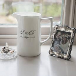 Wedding Jug with Initials