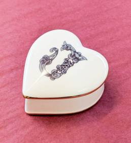 Trinket Box with Intials
