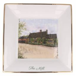 Bespoke Large Square Wedding Venue Dish