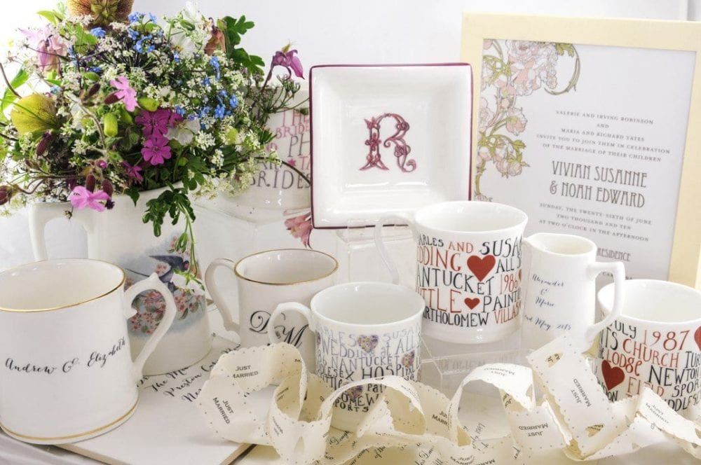 personalised wedding gift collection