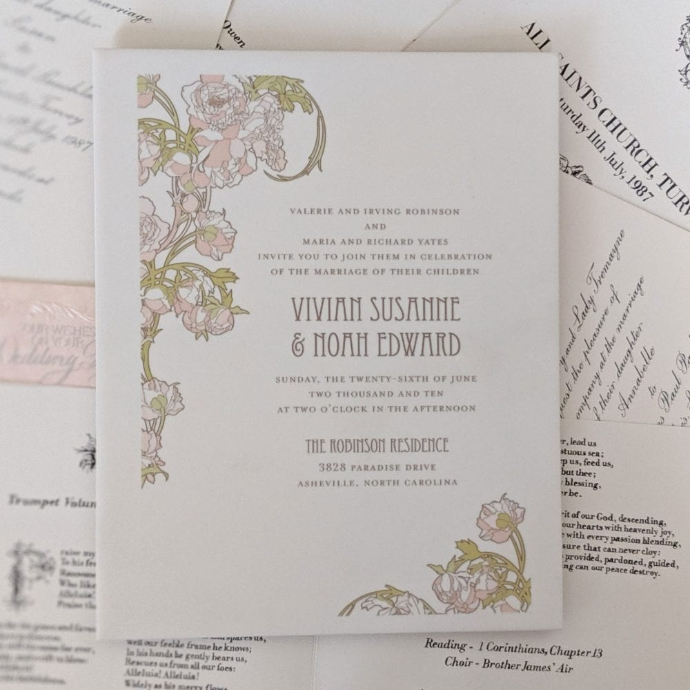 Invitation on a Trivet