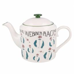Racing Silk Teapot