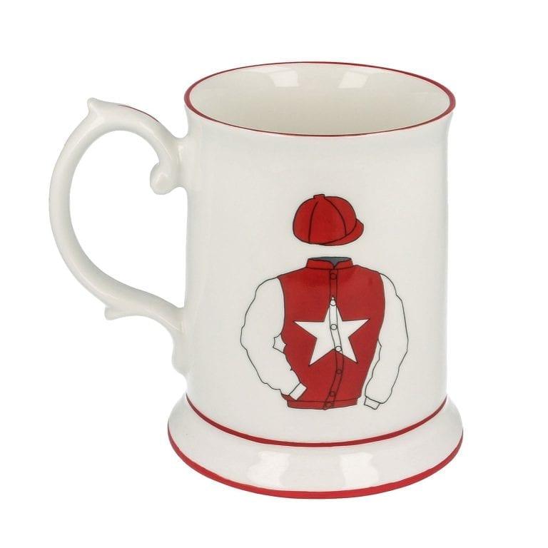 Racing Silk Tankard Mug