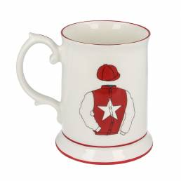 Racing Silk Tankard Mug
