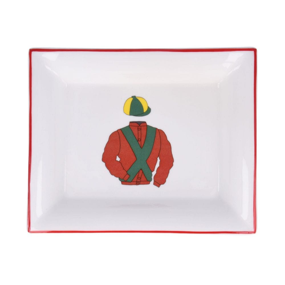 Horse Racing Red Dish