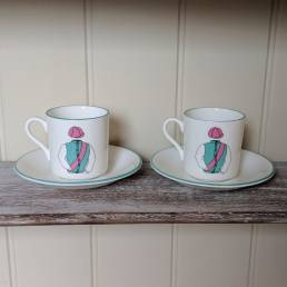 Racing Cup and Saucer Set