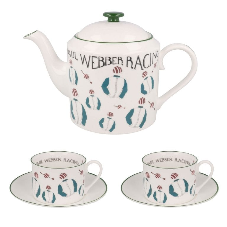 Racing Teapot and Teacup set
