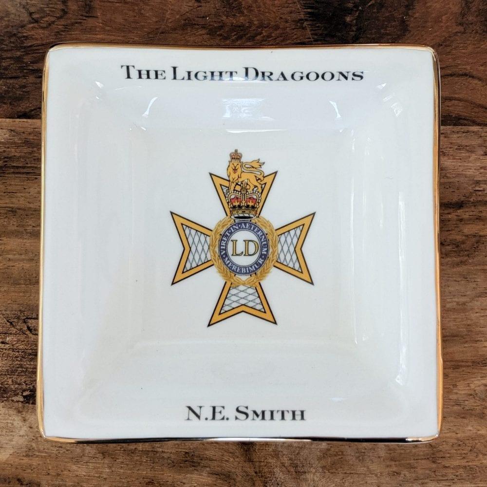 Regimental Square Dish