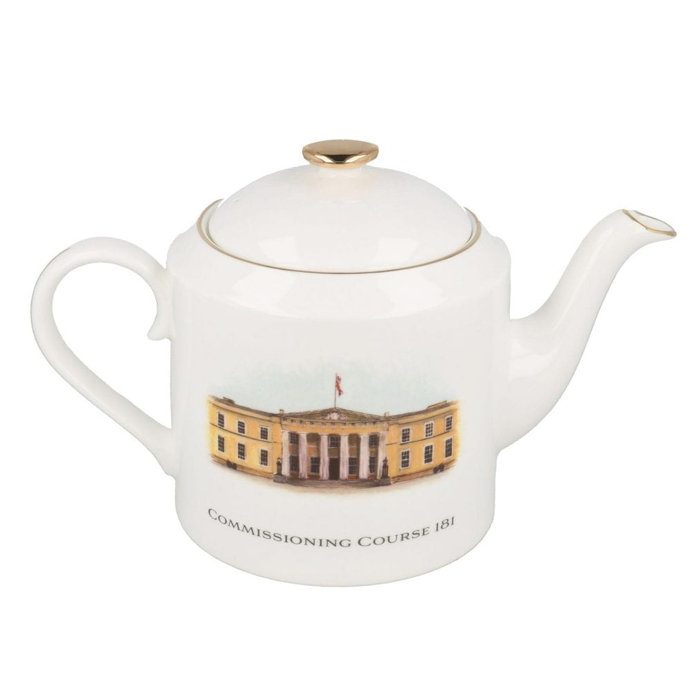 Regimental Teapot