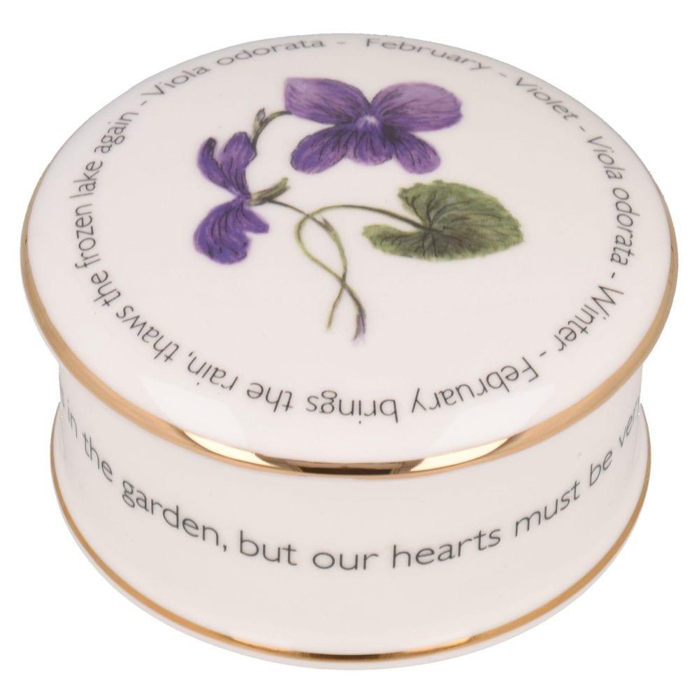 Floral Trinket box - February