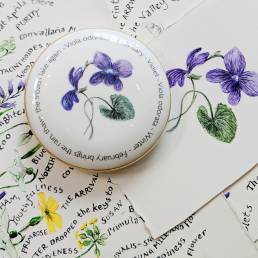 Floral Trinket box - February - lifestyle shot