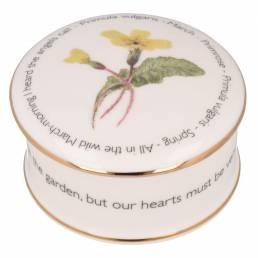 Floral Trinket box - March