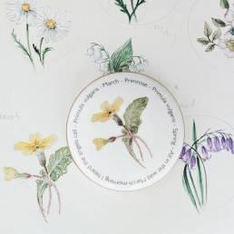Floral Trinket box - March - lifestyle shot