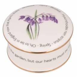 Floral Trinket box - April