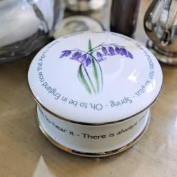 Floral Trinket box April - lifestyle shot
