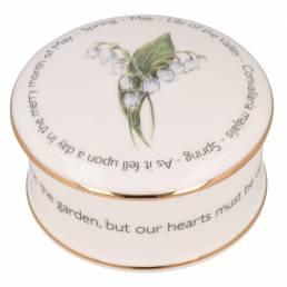 Floral Trinket box - May