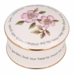 Floral Trinket box - June