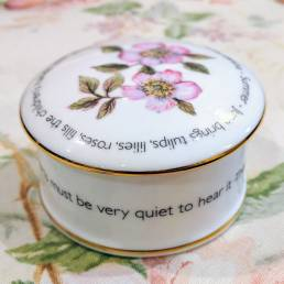 Floral Trinket box - June - lifestyle shot
