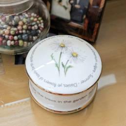Floral Trinket box - July - lifestyle shot