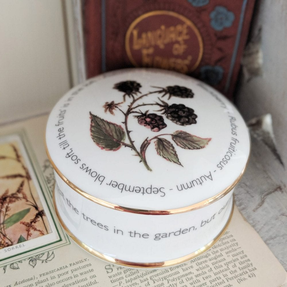 Floral Trinket box - September - lifestyle shot