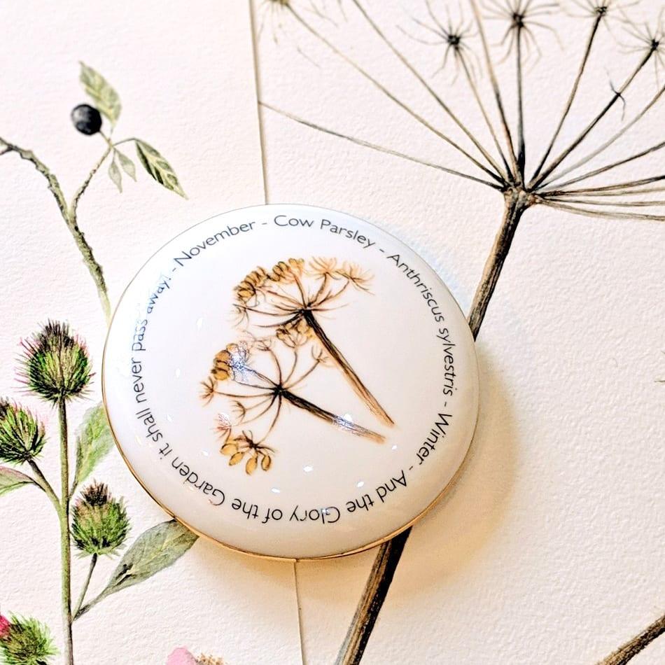 Floral Trinket box - November - lifestyle shot