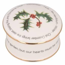 Floral Trinket box - December