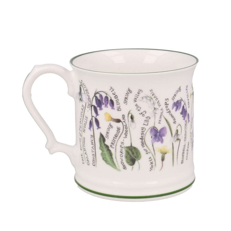 Floral Mug Full of Secrets