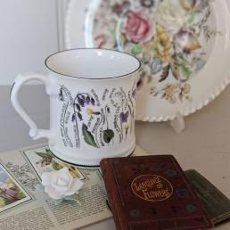 Floral Mug Full of Secrets