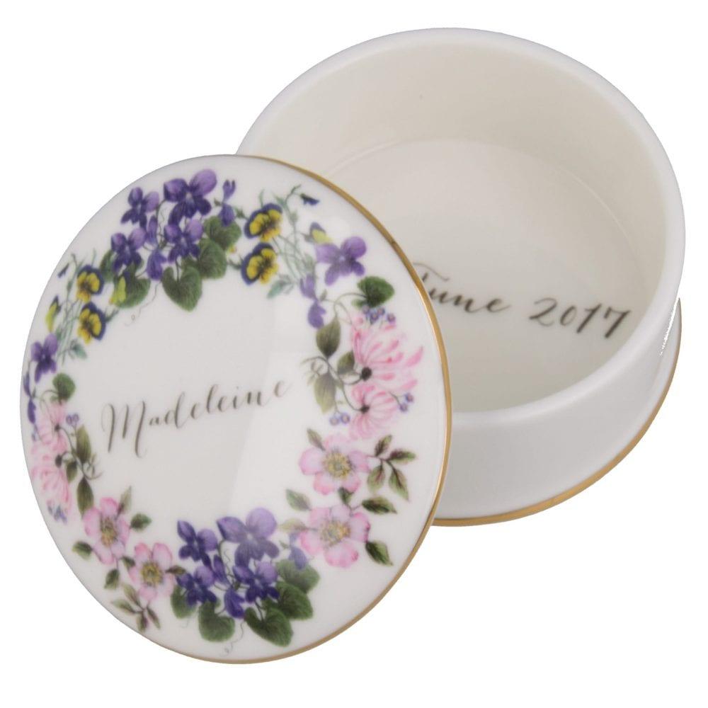 Floral Trinket box