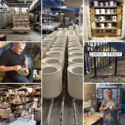 Aspects of English Bone China making in Stoke-on-Trent