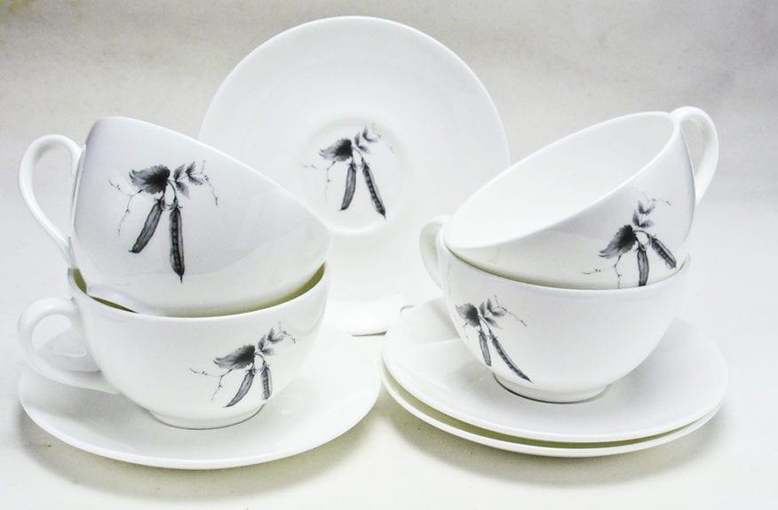 Pea Cappuccino Cup