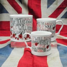 We will Remember Mugs full of History