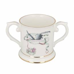 Children Stork Loving Cup