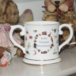 Children Loving Cup with Toy Design