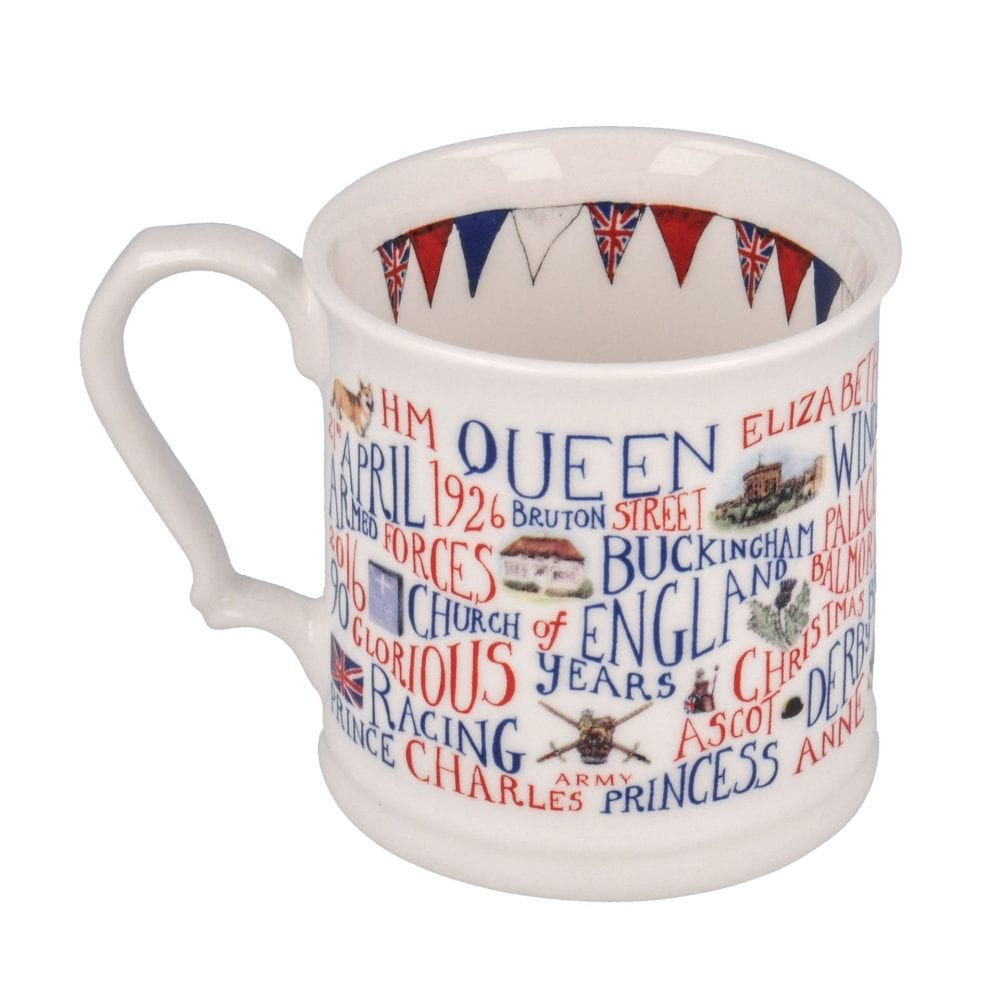 God save the Queen Mug
