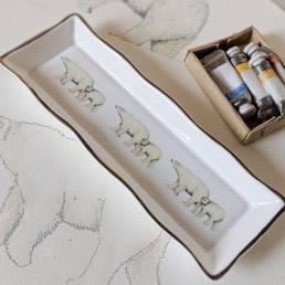 Polar Bear Mint Tray