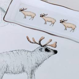 Reindeer mint tray