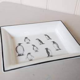 Penguin Rectangular Dish