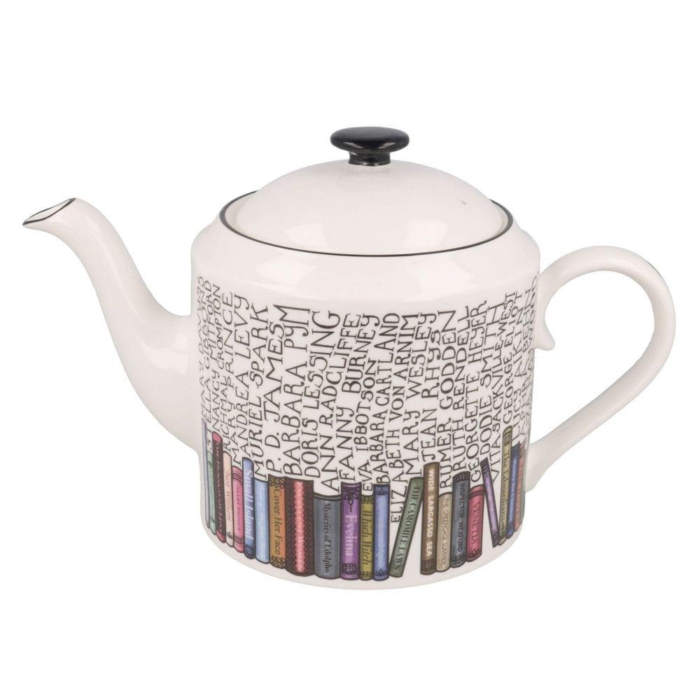 Bookworm teapot