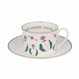 Racing Silk Teacup and saucer