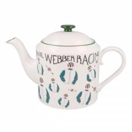 Racing Silk Teapot