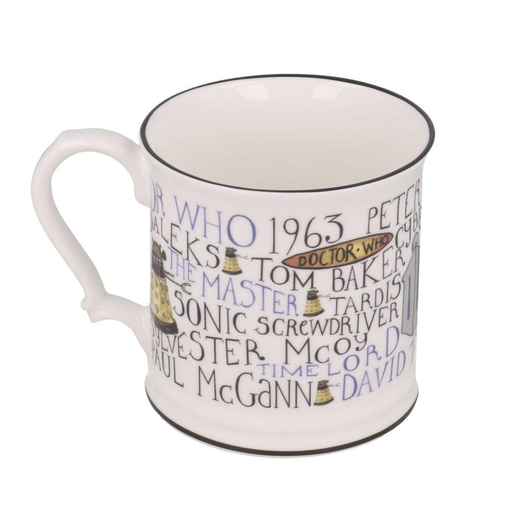 Doctor Who Mug Full of History