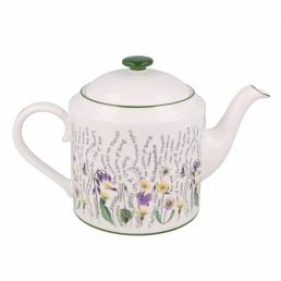 Floral teapot full of secrets