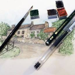 Susan's watercolour sketches