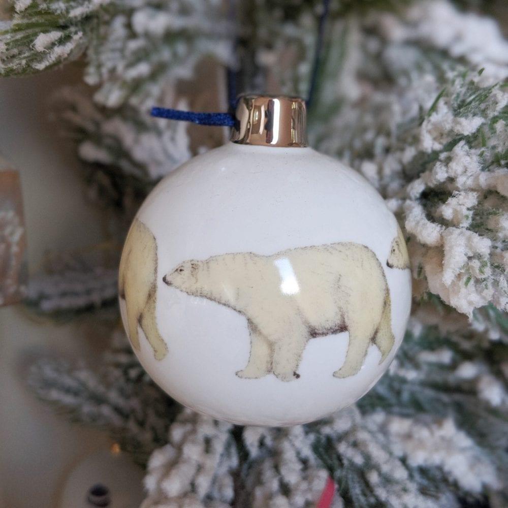 Polar Bear Bauble