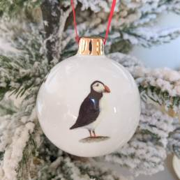 Puffin Bauble