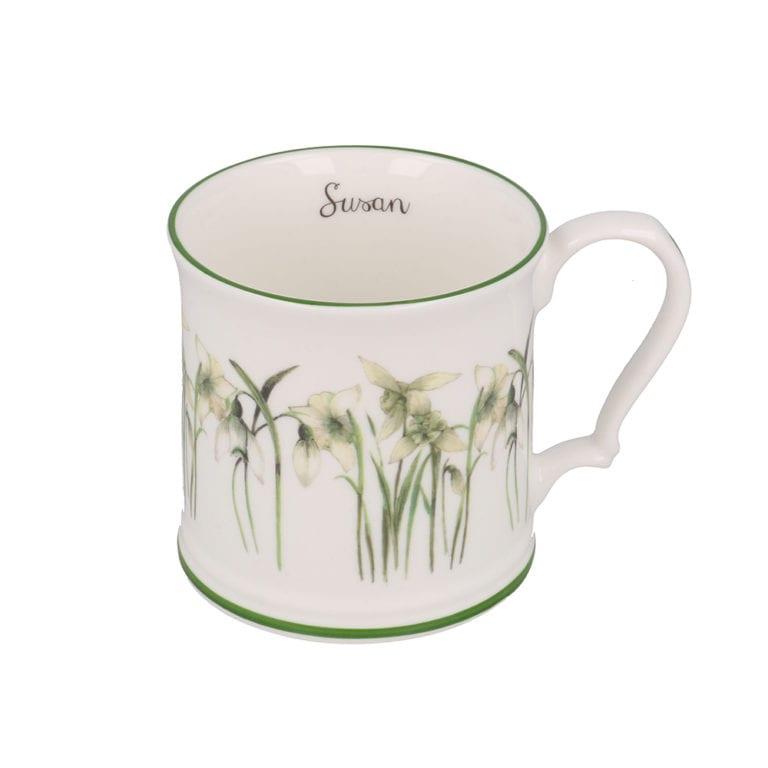 snowdrop mug