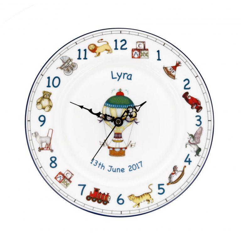 personalised clock